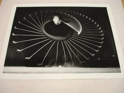 Harold Edgerton (American, 1909-1995). Amateur Golfer, 1938. Gelatin silver photograph, image: 7 5/8 x 10 1/16 in. (19.4 x 25.6 cm). Brooklyn Museum, Gift of The Harold and Esther Edgerton Family Foundation, 1996.166.20. © artist or artist's estate