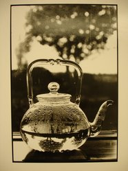 Linda McCartney (American, 1941-1998). Through a Glass Teapot, 1996. Silver bromide print on mold-made paper, Image: 11 3/4 x 8 in.  (29.8 x 20.3 cm). Brooklyn Museum, Purchased with funds given by the Horace W. Goldsmith Foundation, Karen B. Cohen, and Ardian Gill, 1998.114.2. © artist or artist's estate