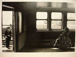 Michael Hanulak (American, born 1937). Staten Island Ferry, 1996. Gelatin silver photograph, Image: 9 1/2 x 12 7/8 in.  (24.2 x 32.8 cm). Brooklyn Museum, Gift of the artist, 1999.38.2. © artist or artist's estate