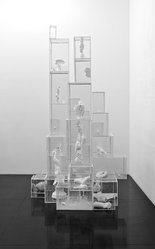 Terence Koh (born China, 1977). Untitled (Vitrines), 2006. Mixed media, variable. Brooklyn Museum, Gift of Peres Projects, Inc., 2008.34. © artist or artist's estate
