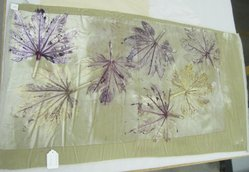 Aviva Stanoff (American, born 1972). Starr Leaf Oversize Kimono Panel, 2004. Hand dyed velvet, 48 1/2 x 26 1/8 in. (123.2 x 66.4 cm). Brooklyn Museum, Gift of the artist in memory of Ando Miyako