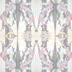 "Shanan Campanaro. Wallpaper, ""Stag Hunt"" Pattern, 2007. Printed paper, a: 36 3/8 x 24 3/4 in. (92.4 x 62.9 cm). Brooklyn Museum, Gift of Shanan Campanaro, 2012.58.6a-b. © artist or artist's estate"