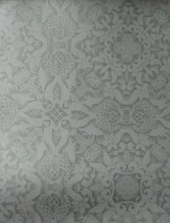 "Stefan Hengst (Dutch, born 1967). Wallpaper, ""Andaluz"" line, ""Granada"" pattern, designed 2011, manufactured 2012. Printed vinyl, a: 24 x 25 1/2 in. (61 x 64.8 cm). Brooklyn Museum, Gift of Stefan Hengst, 2012.63.2a-b. © artist or artist's estate"