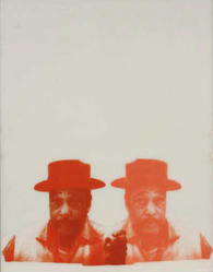 Cleveland Bellow (American, 1946-2009). Duke, 1968. Unique screenprint on two sheets of acrylic, Sheet: 28 x 22 in. (71.1 x 55.9 cm). Brooklyn Museum, Gift of R.M. Atwater, Anna Wolfrom Dove, Alice Fiebiger, Joseph Fiebiger, Belle Campbell Harriss, and Emma L. Hyde, by exchange, Designated Purchase Fund, Mary Smith Dorward Fund, Dick S. Ramsay Fund, and  Carll H. de Silver Fund, 2012.80.7. © artist or artist's estate