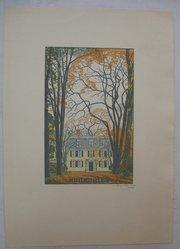 Rudolph Ruzicka (American, born Bohemia, 1883-1978). Siste, Viator. Wood engraving, sheet: 9 1/2 x 6 13/16 in. (24.1 x 17.3 cm). Brooklyn Museum, Gift of Rudolph Ruzicka, 32.1691. © artist or artist's estate