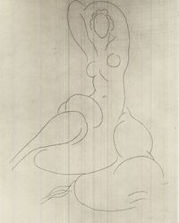 Henri Matisse (French, 1869-1954). Odalisque, 1934. Etching on China paper laid down, Plate: 14 7/16 x 11 1/4 in. (36.6 x 28.6 cm). Brooklyn Museum, Gift of the Print Club of Cleveland, 39.590. © artist or artist's estate
