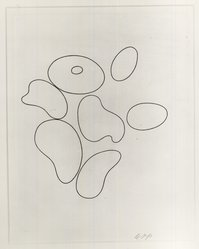 Hans Jean Arp (French, 1887-1966). Composition No. 1, 1935. Etching, Sheet: 12 3/4 x 9 7/8 in. (32.4 x 25.1 cm). Brooklyn Museum, Brooklyn Museum Collection, 39.662.1. © artist or artist's estate