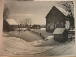 Newell Green (American). Winter Blanket. Photograph Brooklyn Museum, Gift of the artist, 40.885. © artist or artist's estate