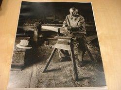 Albee J. Gulau (American). Saw Sharpener. Photograph Brooklyn Museum, Gift of the artist, 47.155. © artist or artist's estate