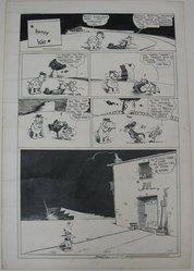 George Herriman (American, 1880-1944). Krazy Kat, 1937. Pen and ink on paper, Sheet: 24 9/16 x 16 7/8 in. (62.4 x 42.9 cm). Brooklyn Museum, Gift of Sylvan Byck, 47.216.1. © artist or artist's estate