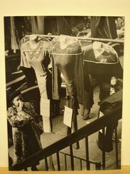 Gaby Mayer. Gowns for Sale. Photograph, 13 1/2 x 10 1/4 in. (34.3 x 26 cm). Brooklyn Museum, Gift of the artist, 52.162.4
