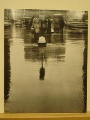 Clemens Kalischer (American, born 1921). 34th Street Rain. Photograph Brooklyn Museum, Gift of the artist, 53.155.3. © artist or artist's estate
