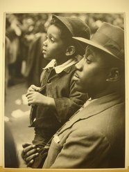 Clemens Kalischer (American, born 1921). Negro Father and Son. Photograph Brooklyn Museum, Gift of the artist, 53.155.4. © artist or artist's estate