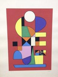 Atanasio Soldati (Italian, 1896-1953). Arte Astratta, 1955. Serigraph on paper, sheet: 25 3/16 x 19 1/4 in. (64 x 48.9 cm). Brooklyn Museum, Carll H. de Silver Fund, 57.192.14. © artist or artist's estate
