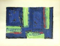Piero Dorazio (Italian, born 1927). Arte Astratta, 1955. Serigraph, Sheet: 19 1/4 x 25 3/16 in. (48.9 x 64 cm). Brooklyn Museum, Carll H. de Silver Fund, 57.192.4. © artist or artist's estate