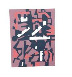 Joseph Jarema. Arte Astratta, 1955. Serigraph, Sheet: 25 3/16 x 19 1/4 in. (64 x 48.9 cm). Brooklyn Museum, Carll H. de Silver Fund, 57.192.5. © artist or artist's estate