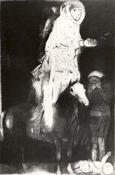 Mauricio Lasansky (American, born Argentina, 1914). Espana, 1956. Intaglio (mixed technique) on heavy wove paper, Plate: 32 x 23 3/4 in. (81.3 x 60.3 cm). Brooklyn Museum, Dick S. Ramsay Fund, 59.12. © artist or artist's estate