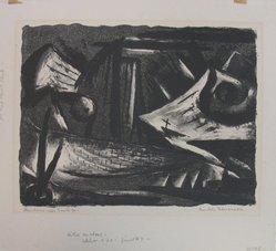 Beulah Stevenson (American, 1875-1965). Mountains near Santa Fe, n.d. Lithograph on paper, sheet: 13 1/8 x 14 1/2 in. (33.3 x 36.8 cm). Brooklyn Museum, Gift of Miriam Eaton, 66.36.5. © artist or artist's estate
