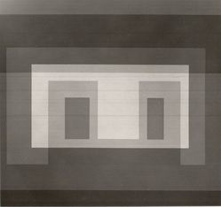 Josef Albers (American, 1888-1976). Variant VI, 1967. Color serigraphs on white wove Rives B.F.K. paper, Sheet: 17 x 17 in. (43.2 x 43.2 cm). Brooklyn Museum, Gift of the artist, 67.184.6. © artist or artist's estate
