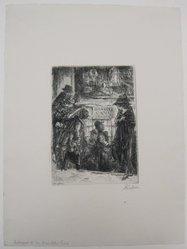 John Sloan (American, 1871-1951). Entrance to the Bandits Cave, 1920. Etching on wove paper, Mat: 19 1/8 x 14 5/16 in. (48.6 x 36.3 cm). Brooklyn Museum, Gift of Mrs. Edwin De T. Bechtel, 68.192.44. © artist or artist's estate