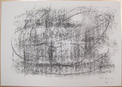 Bernard Pfriem (American, born 1914). Rubbing #3, 1961. Lithograph on wove paper, Sheet: 10 1/16 x 14 in. (25.6 x 35.6 cm). Brooklyn Museum, Anonymous gift, 80.209.83. © artist or artist's estate