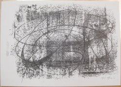 Bernard Pfriem (American, born 1914). Rubbing #4, 1961. Lithograph on wove paper, Sheet: 10 1/16 x 14 in. (25.6 x 35.6 cm). Brooklyn Museum, Anonymous gift, 80.209.84. © artist or artist's estate