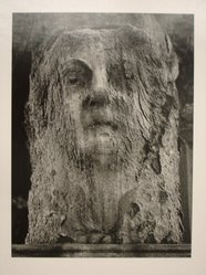 Sidney Kerner (American, 1920-2013). Stone Face. Gelatin silver photograph Brooklyn Museum, Gift of Anna Bisso, 81.147.3. © artist or artist's estate