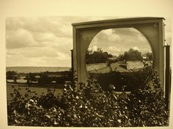 Sidney Kerner (American, 1920-2013). Landscape with Mirror. Gelatin silver photograph Brooklyn Museum, Gift of Anna Bisso, 81.147.8. © artist or artist's estate