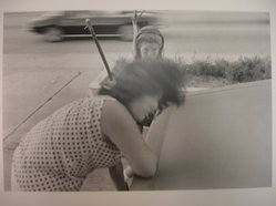 Eduardo del Valle (American, born Cuba, 1951). Mirta and Leyza, 1980. Photograph, image: 8 3/4 x 13 in. (22.2 x 33 cm). Brooklyn Museum, Gift of the artists, 81.71.1. © artist or artist's estate