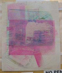Esta Nesbitt (American, 1918-1975). [Untitled], 1971. Color Xerox, sheet: 16 5/8 x 13 7/8 in. (42.3 x 35.3 cm). Brooklyn Museum, Gift of Saul Nesbitt, 82.150.3. © artist or artist's estate