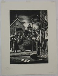 Stevan Dohanos (American, 1907-1994). State Fair, n.d. Wood engraving, Sheet: 17 3/8 x 13 in. (44.2 x 33 cm). Brooklyn Museum, Gift of Mr. and Mrs. Peter P. Pessutti, 82.204.3. © artist or artist's estate