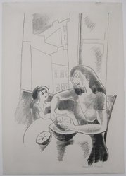 Marguerite Thompson Zorach (American, 1887-1968). Grapefruit, ca. 1927. lithograph, Sheet: 16 x 11 3/8 in. (40.6 x 28.9 cm). Brooklyn Museum, Gift of the collection of the Zorach children, 84.45.8. © artist or artist's estate