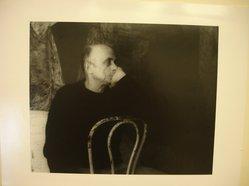 Lenore Seroka (American, born 1935). Leon Golub, 1983. Gelatin silver photograph, sheet: 11 x 14 in. (27.8 x 35.5 cm). Brooklyn Museum, Gift of the artist, 85.63.11. © Lenore Seroka
