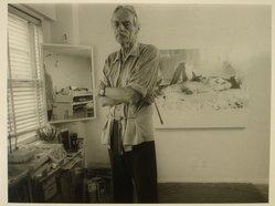 Lenore Seroka (American, born 1935). Balcombe Greene, 1981. Gelatin silver photograph, sheet: 11 x 14 in. (27.8 x 35.5 cm). Brooklyn Museum, Gift of the artist, 85.63.12. © Lenore Seroka