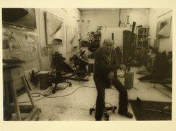 Lenore Seroka (American, born 1935). Herbert Ferber, 1980. Gelatin silver photograph, sheet: 11 x 14 in. (27.8 x 35.5 cm). Brooklyn Museum, Gift of the artist, 85.63.9. © Lenore Seroka