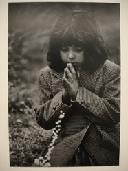 W. Eugene Smith (American, 1918-1978). [Untitled] (Juanita Praying), n.d. Gelatin silver photograph, Sheet: 13 1/4 x 9 in. (33.7 x 22.9 cm). Brooklyn Museum, Gift of Philip Goutell, 87.245.10. © W. Eugene Smith