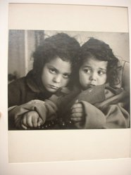 W. Eugene Smith (American, 1918-1978). [Untitled] (Juanita and Marissa, Ages 2 and 4), n.d. Gelatin silver photograph, Sheet: 8 1/4 x 10 3/4 in. (21 x 27.3 cm). Brooklyn Museum, Gift of Philip Goutell, 87.245.12. © W. Eugene Smith