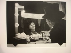 W. Eugene Smith (American, 1918-1978). [Untitled] (Charlie Chaplin), 1952. Gelatin silver photograph, Sheet: 10 7/8 x 13 7/8 in. (27.6 x 35.2 cm). Brooklyn Museum, Gift of Philip Goutell, 87.245.21. © W. Eugene Smith