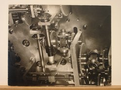 Henri Janson (American). Untitled (Machinery Gears), ca.1948. Gelatin silver photograph, 10 1/4 x 12 7/8 in. (26 x 32.7 cm). Brooklyn Museum, Gift of Alan Schlussel, 88.211.1. © artist or artist's estate