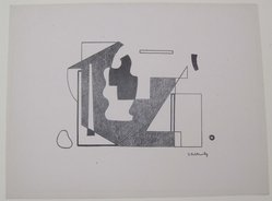 Ilya Bolotowsky (American, born Russia, 1907-1981). [Untitled], 1937. Off-set lithograph on wove paper, sheet: 9 3/8 x 12 in. (23.8 x 30.5 cm). Brooklyn Museum, Purchased with funds given by an anonymous donor, 88.54.2. © artist or artist's estate