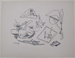 Mr. Ralph M. Rosenborg (American, 1913-1992). [Untitled], 1937. Off-set lithograph on off-white wove paper, sheet: 9 5/16 x 12 1/16 in. (23.6 x 30.6 cm). Brooklyn Museum, Purchased with funds given by an anonymous donor, 88.54.23. © artist or artist's estate