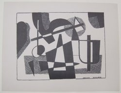 Vaclav Vytlacil (American, 1893-1984). [Untitled]. Off-set lithograph on wove paper, sheet: 9 3/16 x 12 in. (23.4 x 30.5 cm). Brooklyn Museum, Purchased with funds given by an anonymous donor, 88.54.29. © artist or artist's estate