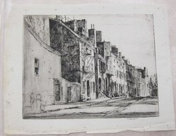 Earl Horter (American, 1881-1940). Middle Alley, Philadelphia, n.d. Etching, Sheet: 8 15/16 x 11 7/16 in. (22.7 x 29.1 cm). Brooklyn Museum, Brooklyn Museum Collection, X1042.15. © artist or artist's estate