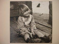 Theodor Jung (American, born Austria, 1906-1996). Child on Porch, n.d. Gelatin silver photograph Brooklyn Museum, Brooklyn Museum Collection, X894.74. © artist or artist's estate