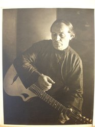 Herman de Wetter (American, born Estonia, 1880-1950). The Lost Chord, n.d. Gelatin silver photograph, 13 7/8 x 10 7/8 in. (35.2 x 27.6 cm). Brooklyn Museum, Brooklyn Museum Collection, X894.84. © artist or artist's estate