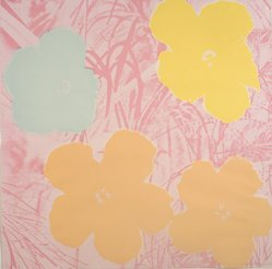 Andy Warhol (American, 1928-1987). Flowers, 1970. Screenprint in colors, sheet: 36 x 36 in. Brooklyn Museum, Gift of The Beatrice and Samuel A. Seaver Foundation, 2004.48.11. © artist or artist's estate